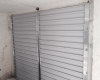 Aluminium garage door panels - inside view