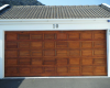 Double raised & fielded ( blocks ) meranti sectional door