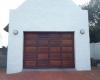 Single raised & fielded ( blocks ) meranti sectional door